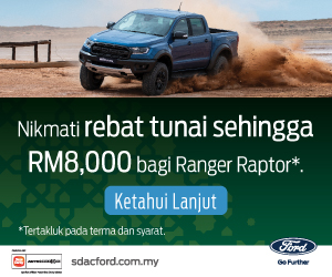 Ford Raptor Billboard