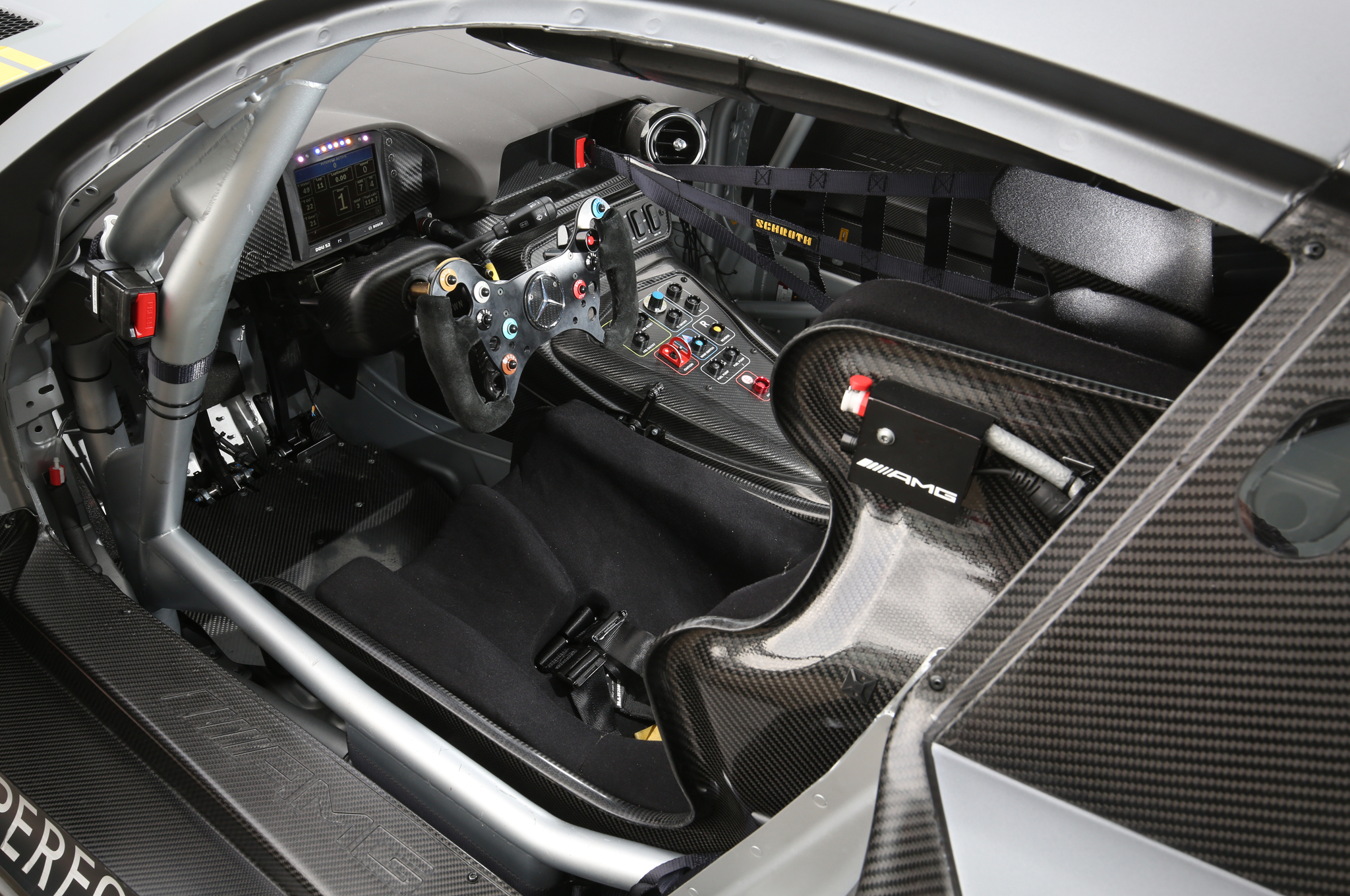 Subaru Race Car Interior
