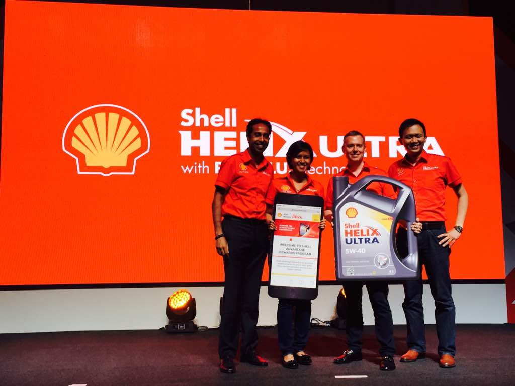 Shell Helix Ultra Drive On Campaign