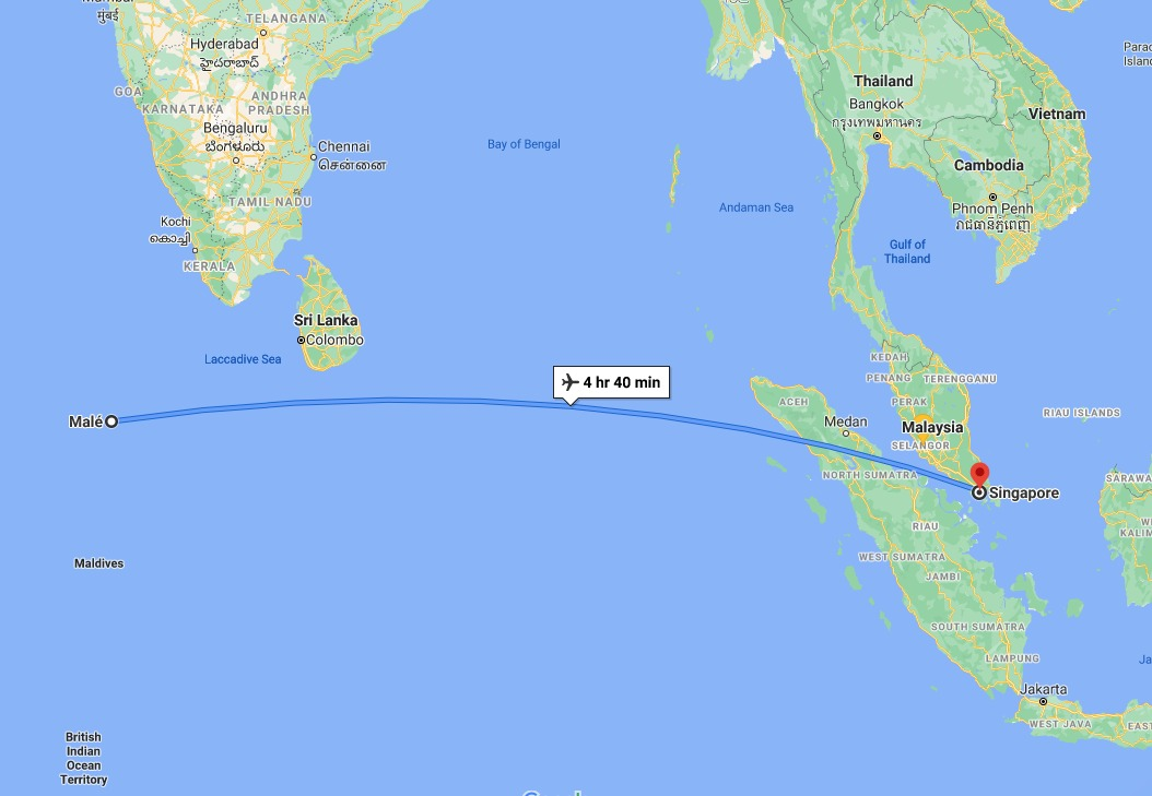 route indonesia