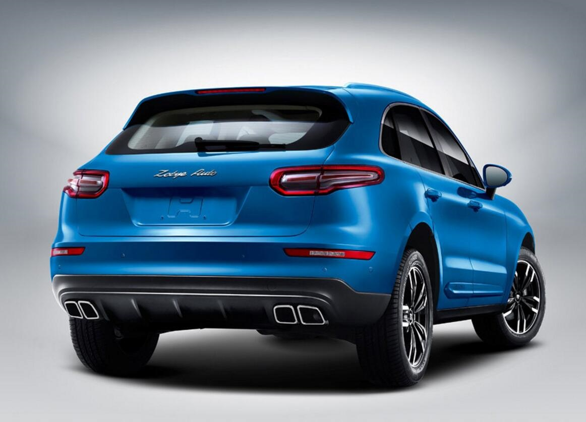 Zotye rear