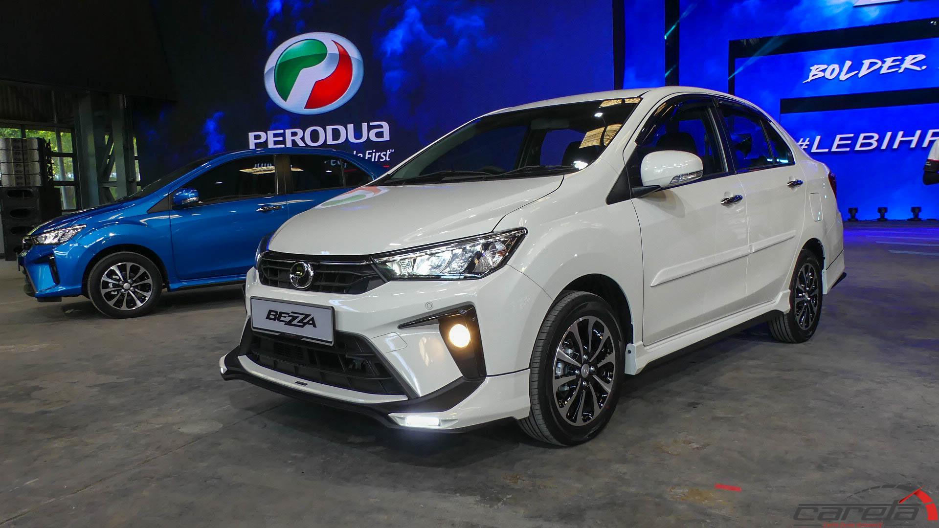 Aksesori GearUp untuk Perodua Bezza 2020 - nampak lagi ...