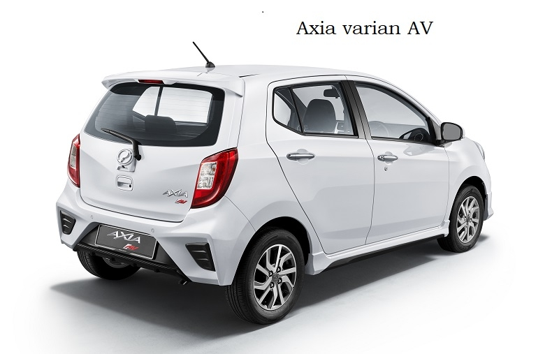Perodua Axia 2019 dilancarkan dengan 6 varian bermula dari