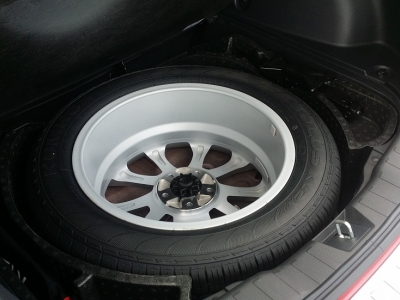 Haval H2 Spare Tyre