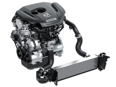 2.5L Skyactiv-G turbo
