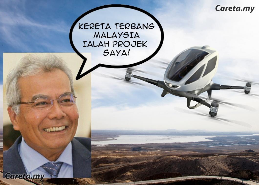 Image result for menteri kereta terbang