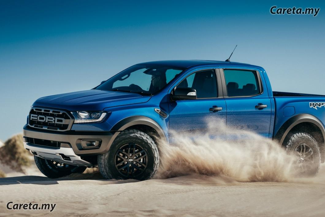 Ford Ranger Raptor 2020 Kini Dengan Lebih Ciri Keselamatan